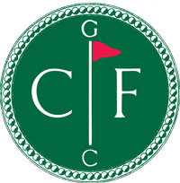 conway farms green circle logo w red flag
