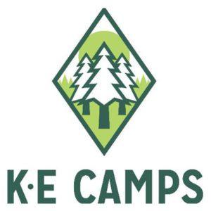 KE Camps logo