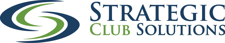 Strategic Club Solutions full blue and green logo